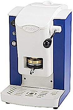 Faber Italia Faber Slot Plast máquina de café de monodosis ESE 44 mm – Color Azul Vintage con acabado gris: Amazon.es: Hogar