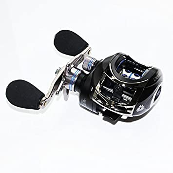 BERRYPRO Baitcasting Fishing Reel 10 1 Ball Bearings Baitcasting Reel Magnetic Braking System Baitcaster Reel Right Left Hand with NMB Ball Bearings