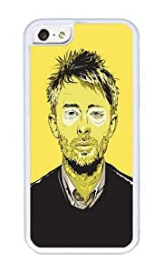 Apple Iphone 5C Case,WENJORS Awesome Thom Yorke Soft Case Protective Shell Cell Phone Cover For Apple Iphone 5C - TPU White