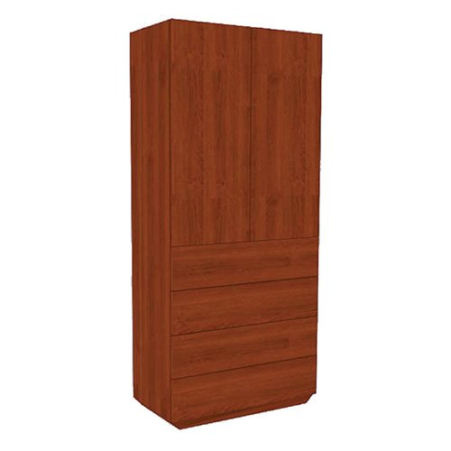 Mor-Medical International SC-Class 7 SEVILLE Collection, Wardrobe 2 Doors/4 Drawers, 72'' Height, 34'' Width by Mor-Medical International