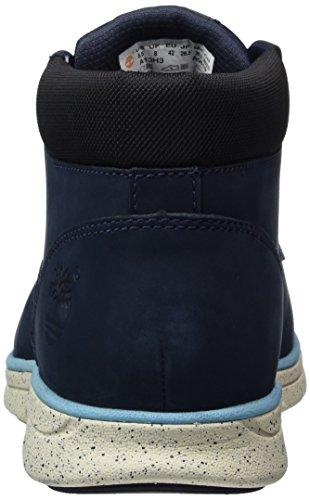 Timberland Herren Bradstreet Chukka Leatherblack Boots, Blau (Black Iris Nubuck), 50 EU