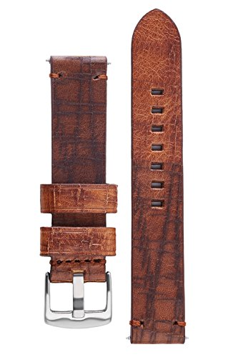 Signature Calfskin Embossed Leather Bracelet