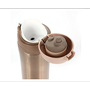 Vacuum Insulation Cups Orange Bike Scrub Stainless Steel Handy Travel Mug Portable Business Trips Bottle 500ML Navy