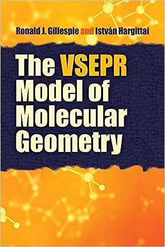 The VSEPR Model of Molecular Geometry (Dover Books on