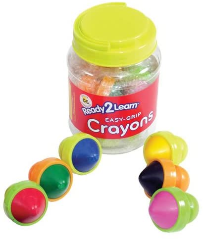 Pack of 6 Center Enterprise CE6911 Ready to Learn Easy Grip Crayons