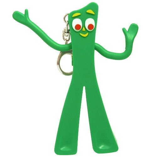 Play Visions Gumby Light Up Keychain