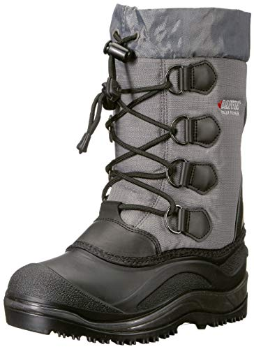 Price comparison product image Baffin Unisex SNOWPACK Snow Boot, Grey, 1 Youth US Little Kid