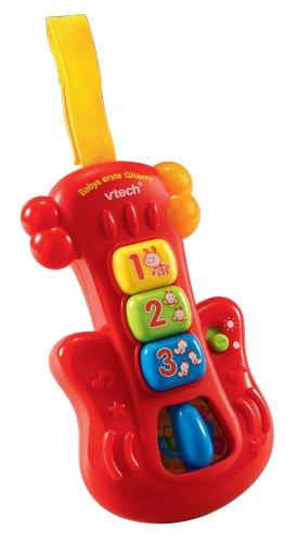 VTech 80-077704 - Babys erste Gitarre Erstes Spielzeug / Activity Spielzeug Erstes Spielzeug / Interaktive Spielpartner Kleinkind / Hören und Fühlen