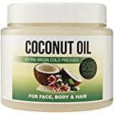 Coconut Oil For Skin, Keeps Skin Beautifully Soft, Looking Younger and Provides Intense Protection; 100% Organic – 500 ml