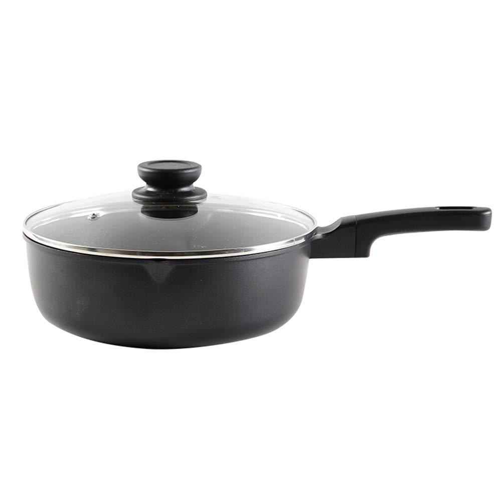 ダイカスト多目的パンノンスティックパン - 食品グレードコーティング安全で健康的な禁煙炊飯器直火ユニバーサルフライパンスープポット JINRONG (Size : 24cm) 24cm  B07SC872DC