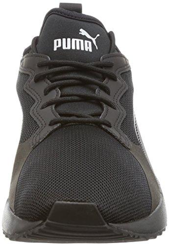 Puma Unisex-Erwachsene Pacer Next Sneaker Schwarz (Black-Black)