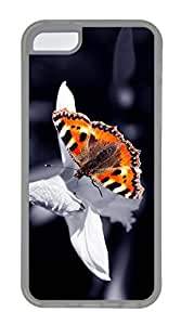 Beautiful Orange Butterfly Cases For iPhone 4s - Summer Unique Cool 4s Cases
