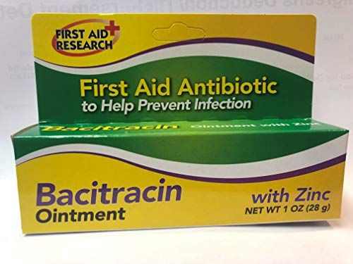 First Aid Research Bacitracin with Zinc 1 Oz