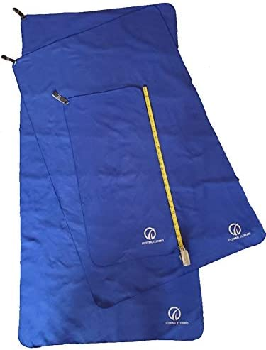 Marine Boating Beach Hiking Pack of 3 Micro Fiber Towels Extra Large-Large /& Medium