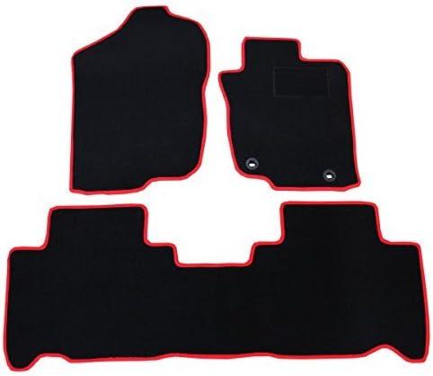 こちらの商品は、ハリアー ハリアーハイブリッド 60系 フロアマット 黒無地/赤フレームになります。