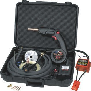 Ready Welder MIG Welding Mechines with Mig Spool Gun and a AC/DC Converter to Supply 24V DC Constand Current Stick Welding Machines RWII #10250-CS