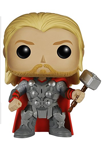 Funko Marvel: Avengers 2 - Thor Bobble Head Action Figure (Marvel Avengers Collectible Stand compare prices)