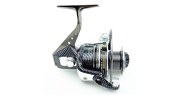Ooba Full Metal Pesca de la Rueda 14 de Eje para No Gap Spinning ...