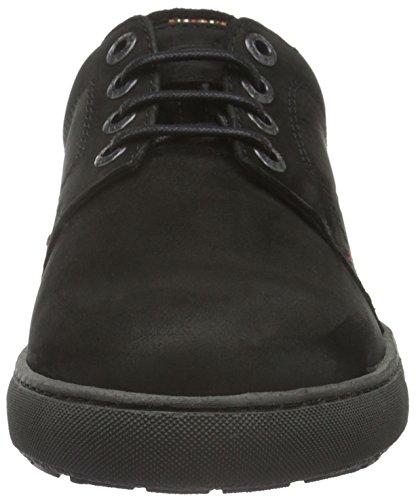 camel active Spice 11, Zapatos de Cordones Derby para Hombre Negro (black 02)