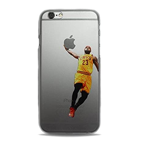 49aec3a87a NBA Basketball Case Cover for Apple Iphone 6 6s Lebron: Amazon.co.uk:  Electronics