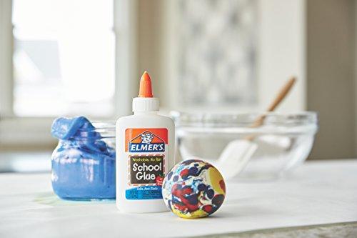 Elmer's Liquid School Glue, Clear, Washable Photo #14