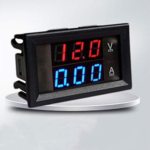 Dual Red Blue LED Digital Volt Meter Ammeter Panel Volt Gauge Meter: Amazon.co.uk: Kitchen & Home