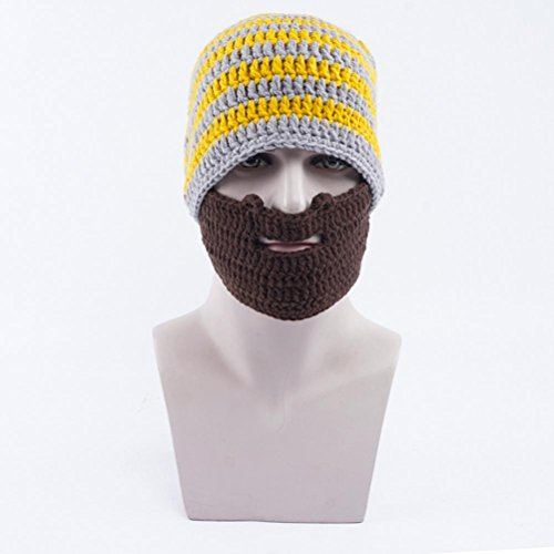 Sombreros Hombres De De Otoño Gorros Romanos Sombreros Sombreros Unisex Sombreros Yellow De De De Invierno Punto Barba wRYgqy6x0