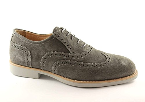 élégant gris homme Grigio NERO chaussures pointe de 3390 sport GIARDINI BYYEqAw0