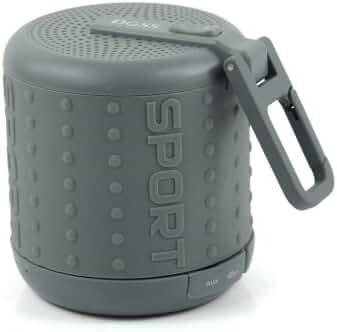 Doss DS1208 Hurricane Sport Mini Handsfree Portable Wireless Bluetooth TF Player Speakers (Grey)