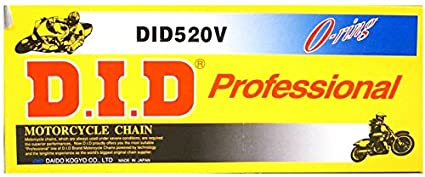 520STD-104 Standard Series Chain with Connecting Links 520VO-108 D.I.D