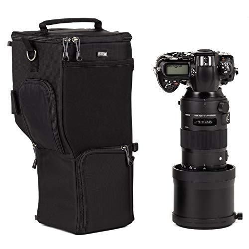 Think Photo Lens Tank - Think Tank Photo Digital Holster 150 Camera Bag (Black) for Sigma or Tamron 150-600mm Lens