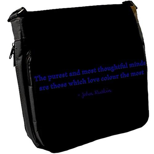 Il Più Puro E - John Ruskin Unisex Umhängetasche