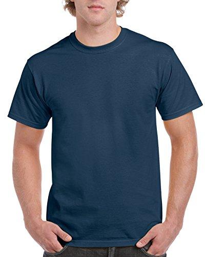 Gildan Men's Ultra Cotton Tee, Blue Dusk, X-Large