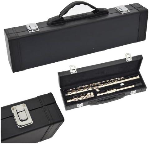 ts-ideen 6120 - Flauta travesera con mecanismo de mi partido (incluye estuche de piel sintética), color plateado: Amazon.es: Instrumentos musicales