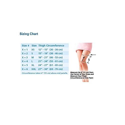 Breg ShortRunner Knee Brace (Large - Neoprene - Sleeve - Open Back) by Breg (Image #8)