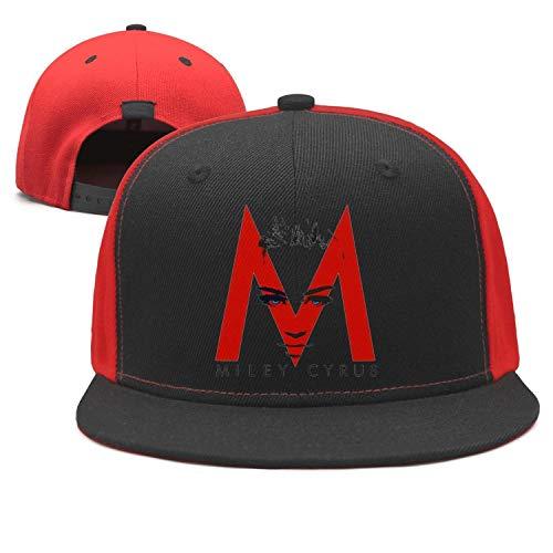 Baseball Musical (Miley Cyrus Vector Musical Baseball Hats Style Rock Punk Caps)