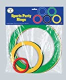 Sports Party Rings (asstd colors) Party Accessory  (1 count) (15/Pkg), Health Care Stuffs