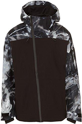 O'Neill Men's Jones Contour Jacket, Black AOP, Large
