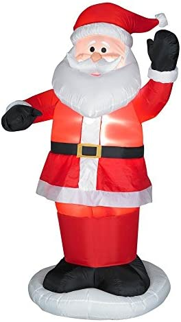 Gemmy Industries Airblown Animated Dancing Santa