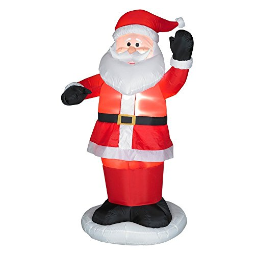 Gemmy Airblown Animated Dancing Santa Inflatable