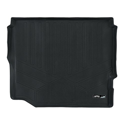 - SMARTLINER Cargo Liner Floor Mat Black for JL 2018-2019 Wrangler Unlimited with Flat Load Floor Without Subwoofer (No JK)