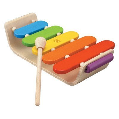 Preschool Oval Xylophone by PlanToys by Plan Toys