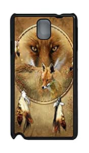 Samsung Galaxy Note 3 N9000 Cases & Covers Dreamcatcher Fox Custom PC Hard Case Cover for Samsung Galaxy Note 3 N9000 Black