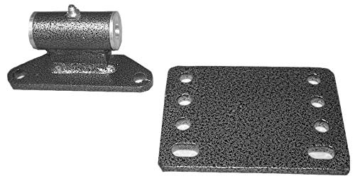(Rack'em Sulky/Velky EZ-Ride Mower Hitch & Mounting Plate REZ-311-313)