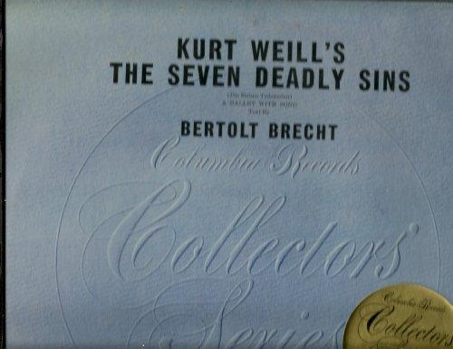 vinyl: KURT WEILL'S THE SEVEN DEADLY SINS... 1973... Die Sieben - Kurt Seven Sins The Deadly Weill