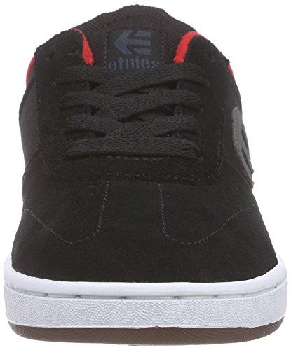 EtniesKIDS LO-CUT - Zapatillas de Skateboard Niños-Niñas Negro - Schwarz (001 / BLACK)