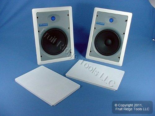 Leviton SGI80-W 8-Inch Two-Way In-Wall Loudspeaker, White