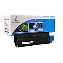 TRUE IMAGE HECE321A-C128A Compatible Toner Cartridge Replacement for HP CE321A (Cyan)
