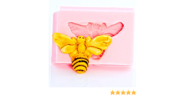 and so much more cake toppers Small Mandala Bumble Bee Silicone Mould for Resin clay