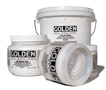 - Golden Artist Colors - Light Molding Paste - 128 oz Jar
